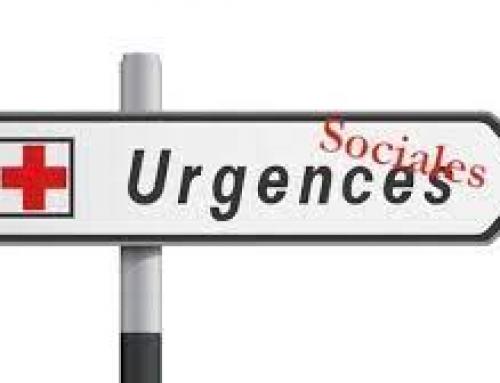 L'urgence est sociale !